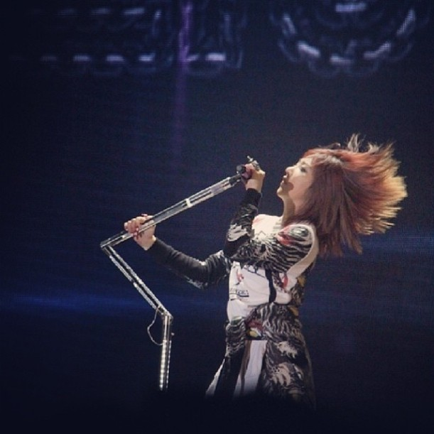 Lion Queen Lol....#aon #2ne1 #hongkong
