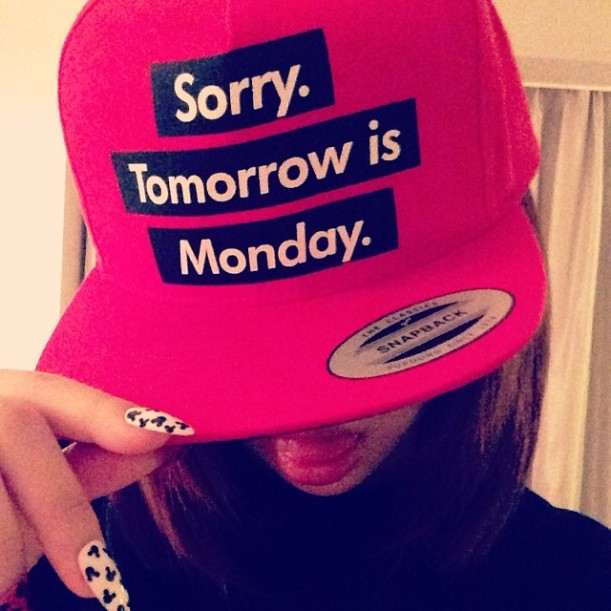 #critic Sorry, Tomorrow is Monday.. @newseoul#snapback
