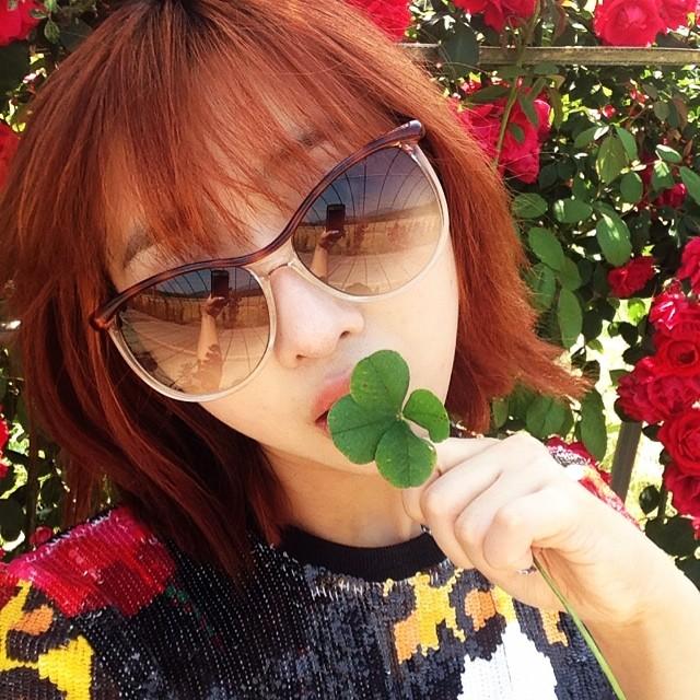 Minzy : Oh yeah~~~!!!! #Happy