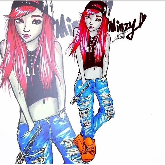 Minzy : Joli !!!!❤️