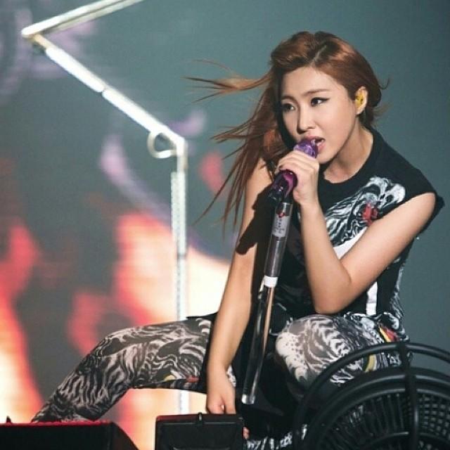 Minzy : #Singapour Nous nous sommes beaucoup amusées !! #Idontcarerockver