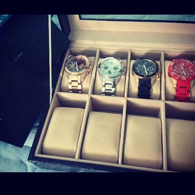Minzy : Des montres chronographes #MJ ❤️ Ma collection #marcbymarcjacobs