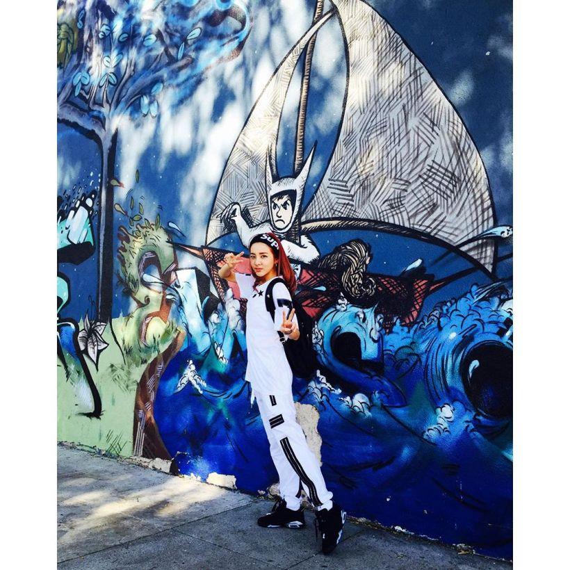 Dara : Dara la touriste Dara à LA