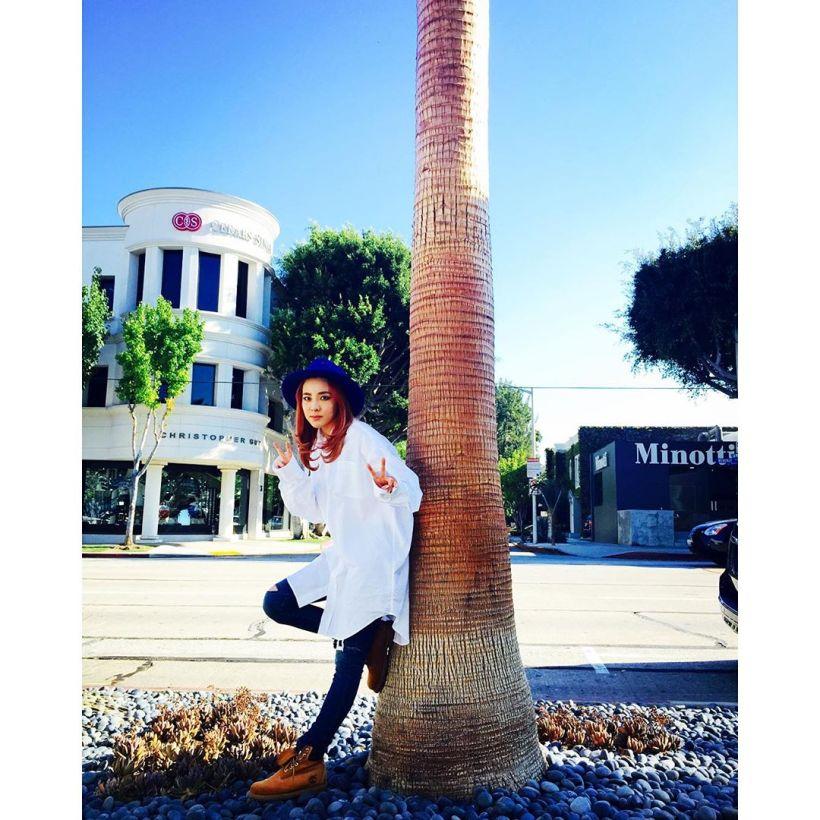 Dara : Dara la touriste à LA