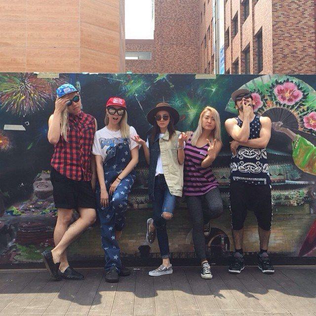 Chocomoo: #SEOUL 🇰🇷💕 @marshallbang @daraxxi @thelyddz