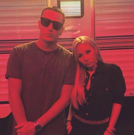 DJ Snake: Moi & @chaelincl la plus cool de tous les temps🇰🇷🇫🇷
