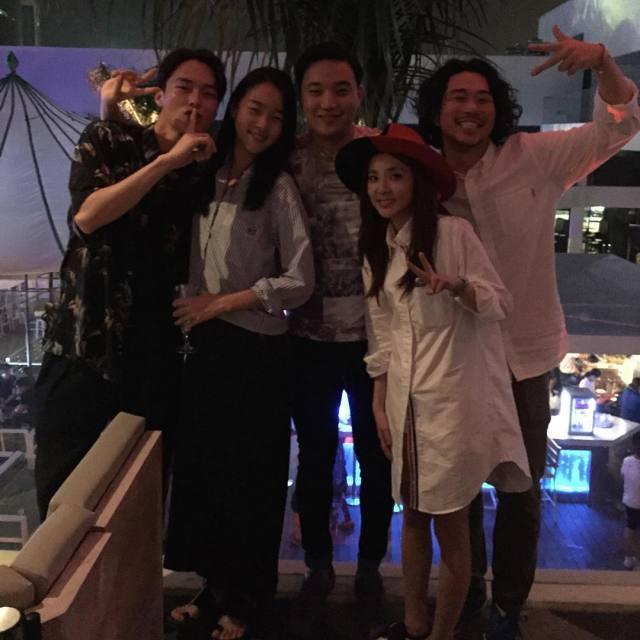 Ryan Bang Instagram: Le casting de #WeBrokeUp aux Philippines! Bon retour Dara! @daraxxi @hyoni_kang