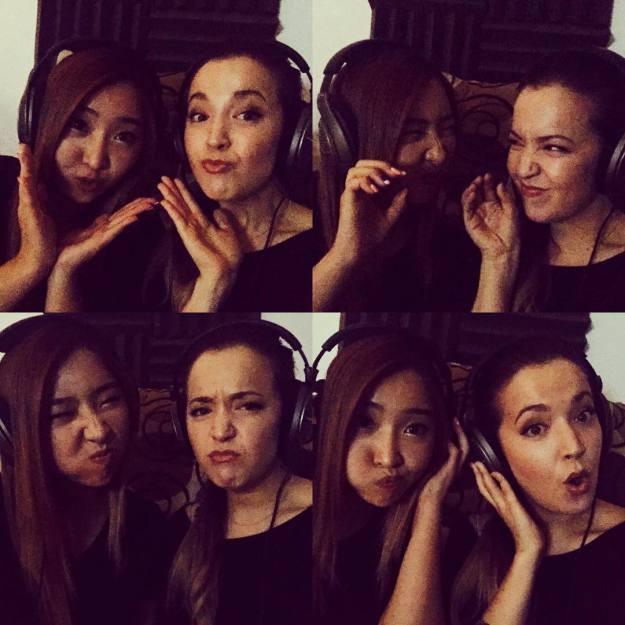 Minzy: ❤ Ahhhhhhhh~ @kloeshinn #studio